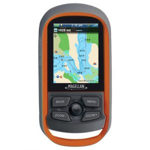 Memory and Connecting of handheled GPS for fishing