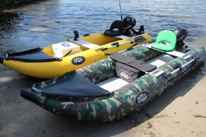 Inflatable Kayak for Fishing