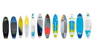 Size SUP Paddle