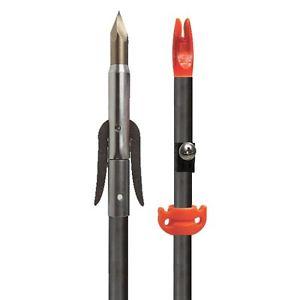Carbon bowfishing arrow