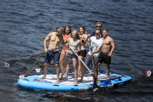 Weigth capacity of Stand Up Paddle Board for Fishing