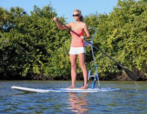 Rack Stand Up Paddle Board for Fishing