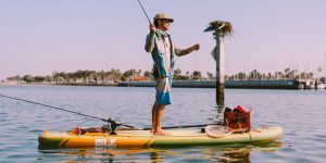 Solid Paddle Board for Fishing