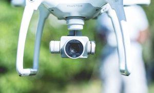camera of fishing drone