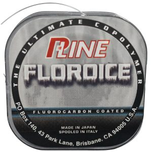 P-Line Floroice Clear Fishing Line 100 YD Spool - best fluorocarbon fishing line