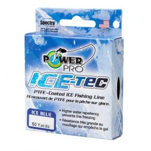 Power Pro Ice-Tec 50-yard Ice Line - best power pro ice fishing line