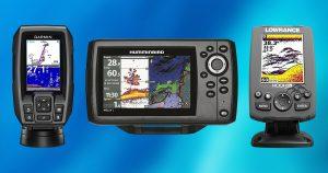 Portable vs. Mountable fish finder gps combo