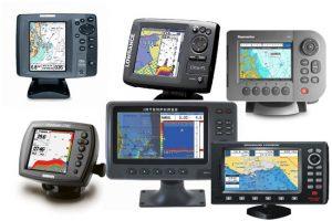 Screen resolution of fishfinder