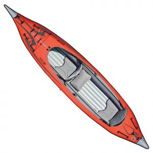Advanced Elements Convertible Inflatable Kayak for fishing - top rated inflatable kayak in 2018
