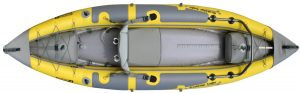 Advanced Elements Straitedge Angler Kayak - best rated inflatable kayak