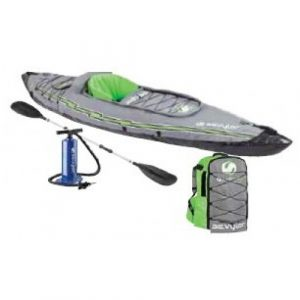 Sevylor Quikpak K5 1-Person Kayak - single person inflatable kayak