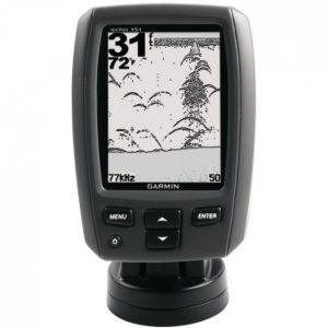 Screen resolution of fishfinder gps combo. Black & White
