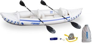 Sea Eagle Inflatable Sport Kayak Pro Package - top rated inflatable  kayak for fishing