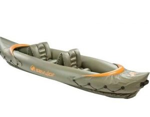Sevylor Tahiti Hunt and Fish Kayak - top rated 2 person inflatable kayak in 2018