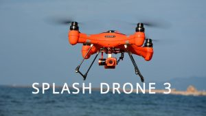 Swellpro Waterproof Fishing Drone Splash Drone 3