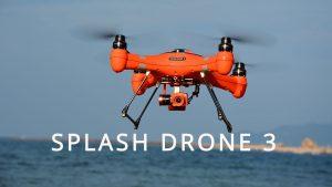 Swellpro Waterproof Fishing Drone Splash Drone 3