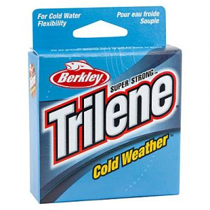 Berkley Trilene Cold Ice fishing line - best ice fishing line with low memory