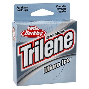 Berkley Trilene Micro Ice fishing line - top rated monofilament line