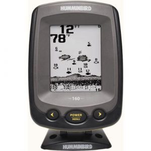 black & white fish finder