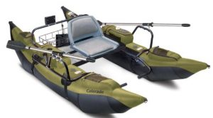 Classic Accessories Colorado Inflatable Pontoon Boat With Motor Mount - Best Inflatable Boat for Fishing