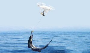 drone for fishing