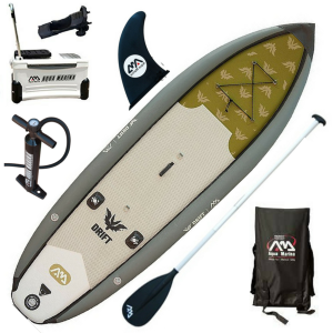 Aqua Marina Drift Fishing Inflatable Stand-up Paddle Board - best fishing sup in 2019