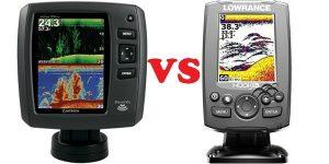 Color vs. Black & White fishfinder