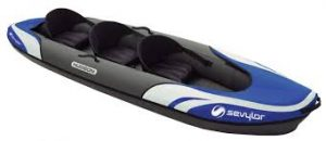 Sevylor Big Basin 3-Person Kayak - best 3 man inflatable kayak for fishing