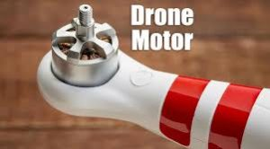 Fishing drone motor