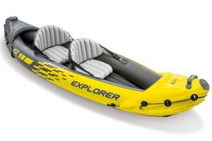Intex Explorer 2-Person Inflatable Kayak - two man inflatable fishing kayak