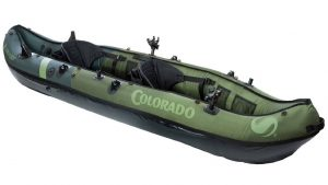 Sevylor Coleman Colorado 2-Person Fishing Kayak - best inflatable two person fishing kayak