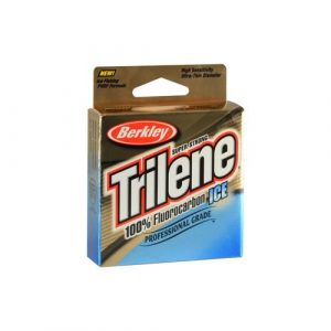 Berkley Trilene best low stretch fluorocarbon ice fishing line