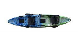 Epic Gear NEXT Tracker II 13' Fishing Kayak with Paddles - Best 2 Man Kayak for Fishing