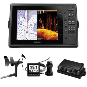 Garmin GPSMAP 1040xs Chartplotter/Sonar Combo - Good Garmin Fishfinder GPS Combo Under 1000