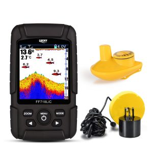 Eyoyo Portable 9 inch LCD Monitor Fish Finder - Best Fishfinder Under 200