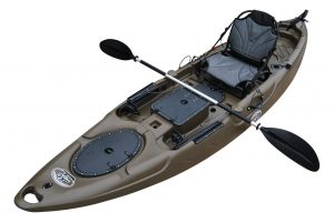 Brooklyn Kayak Company BKC UH-RA220 11-Foot 6-inch Angler Sit On Top Fishing Kayak - Good Kayak for Fishing in 2019
