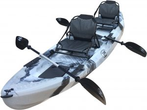 BKC UH-TK29 Tandem 2-Person Sit On Top Fishing Kayak - Top Rated Two-Person Fishing Kayak in 2019
