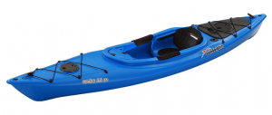 SUNDOLPHIN Sun Dolphin Aruba SS 12-Foot Sit-in Kayak - Top Rated Kayak for Fishing in 2019