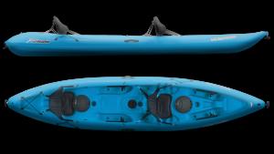 SUNDOLPHIN Sun Dolphin Bali 13.5-Foot Tandem Kayak