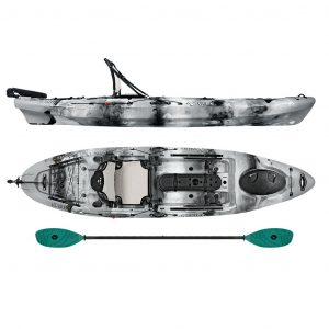 Vibe Kayaks Sea Ghost 110 11-Foot Angler Sit On Top Fishing Kayak - Best Sit On Top Fishing Kayak in 2019