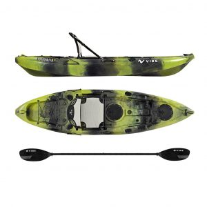 100 10-Foot Angler Sit On Top Kayak - Top Rated Fishing Kayak Under 1000