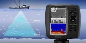 What is a transducer on a fish finder?