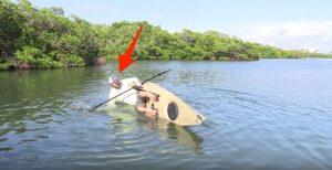 Do kayaks flip over easily?