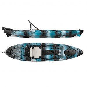 Vibe Kayaks Sea Ghost 130 Angler Kayak - Top Best Kayak for Fishing in 2019
